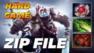 ZIP FILE PUDGE Long Hard Game | Genius Hooks | Dota 2 Pro Gameplay