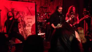 Rotting Christ Live 2015 One Eyed Jacks @ New Orleans, Louisiana 11/05/15