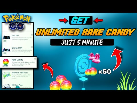 How To Get Rare Candy In Pokemon Go | How To Get Free Rare Candy Pokemon Go | Pokemon Go Rare Candy.