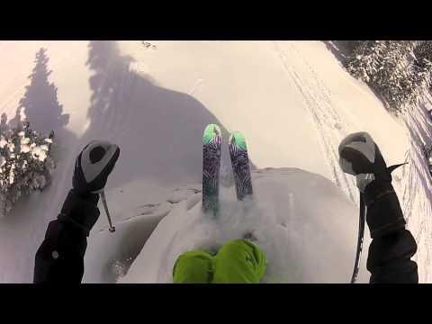 Skiing the Winter Park Cirque