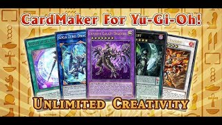 How to create Yugioh card easily!!! | Yugioh Card Maker