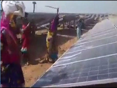 Villagers Breaking The Solar Panels Which Was To Give Electricity by Solar Panels India