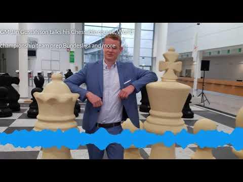 GM Jan Gustafsson On His New Chessable 1. E4 E5 Course, Team Magnus +the Next World ♟️ Championship