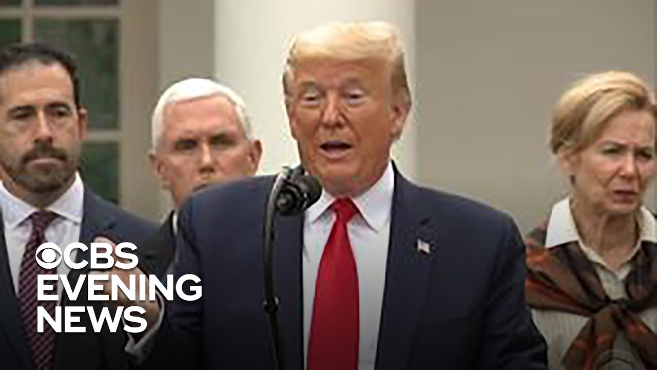 Trump declares national emergency to combat coronavirus