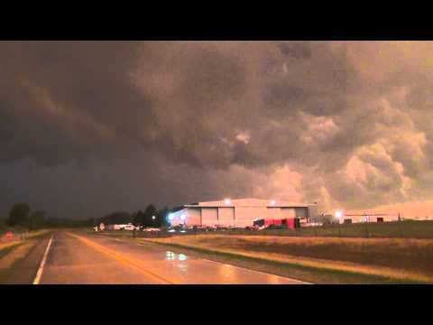 Severe Thunderstorm in Southeastern Michigan