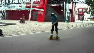 Paris Freestyle Skateboarding-July 2012