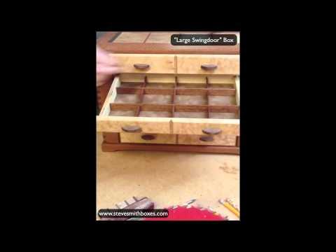 Jewelry Organizer Handmade Wooden Jewelry Box