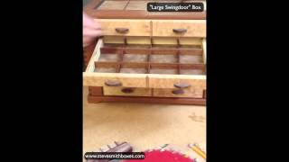 Jewelry Organizer Handmade Wooden Jewelry Box