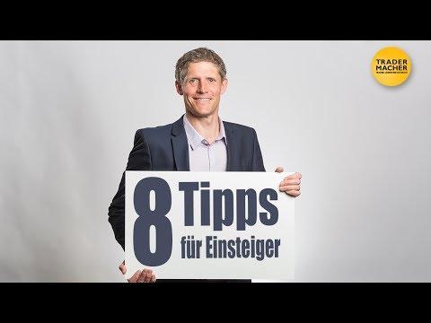 8 KONKRETE TIPPS für EINSTEIGER!