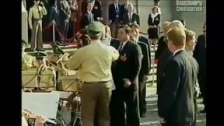 Ельцин дирижирует оркестром (Полная версия + мелодия)