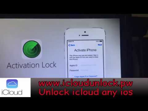 Remove icloud lock : How to remove/unlock/bypass icloud lock (All Devices FINAL) 2017