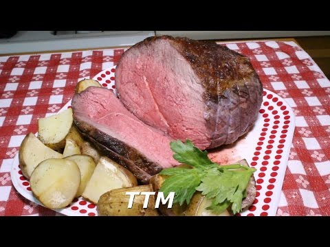 How To Cook Roast In The Oven Best Roast Beef Cross Rib Roast And Gravy Recipe