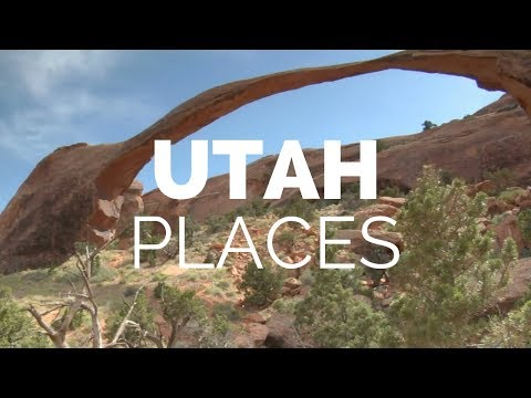 10 Best Places to Visit in Utah Travel Video