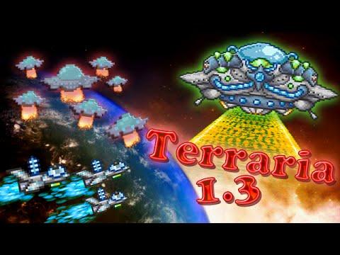 видео: terraria 1.3 - Марсианское безумие (martian madness)