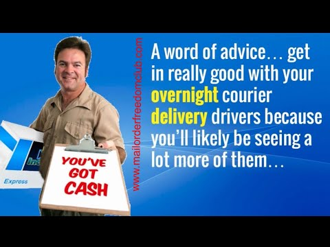 (How To Make Money From Home) Direct Mail Leads Six Figure Stamp Club Mailbox Income
