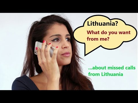 Lithuania Calls Scam - Did They Call You From Lithuania?📞📞📞