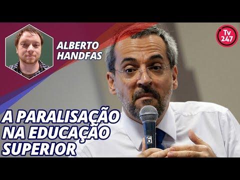 Alberto Handfas fala sobre a paralisação na educação superior (9.5.2019)