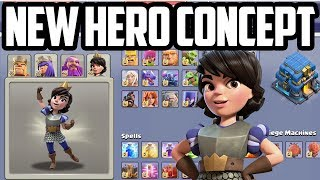 NEW Hero Concept! 4th Hero Hint in Clash of Clans Update?