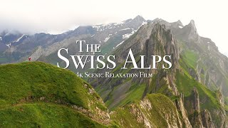 Swiss Alps 4K - 30 Minute Relaxation Film with Calming Music