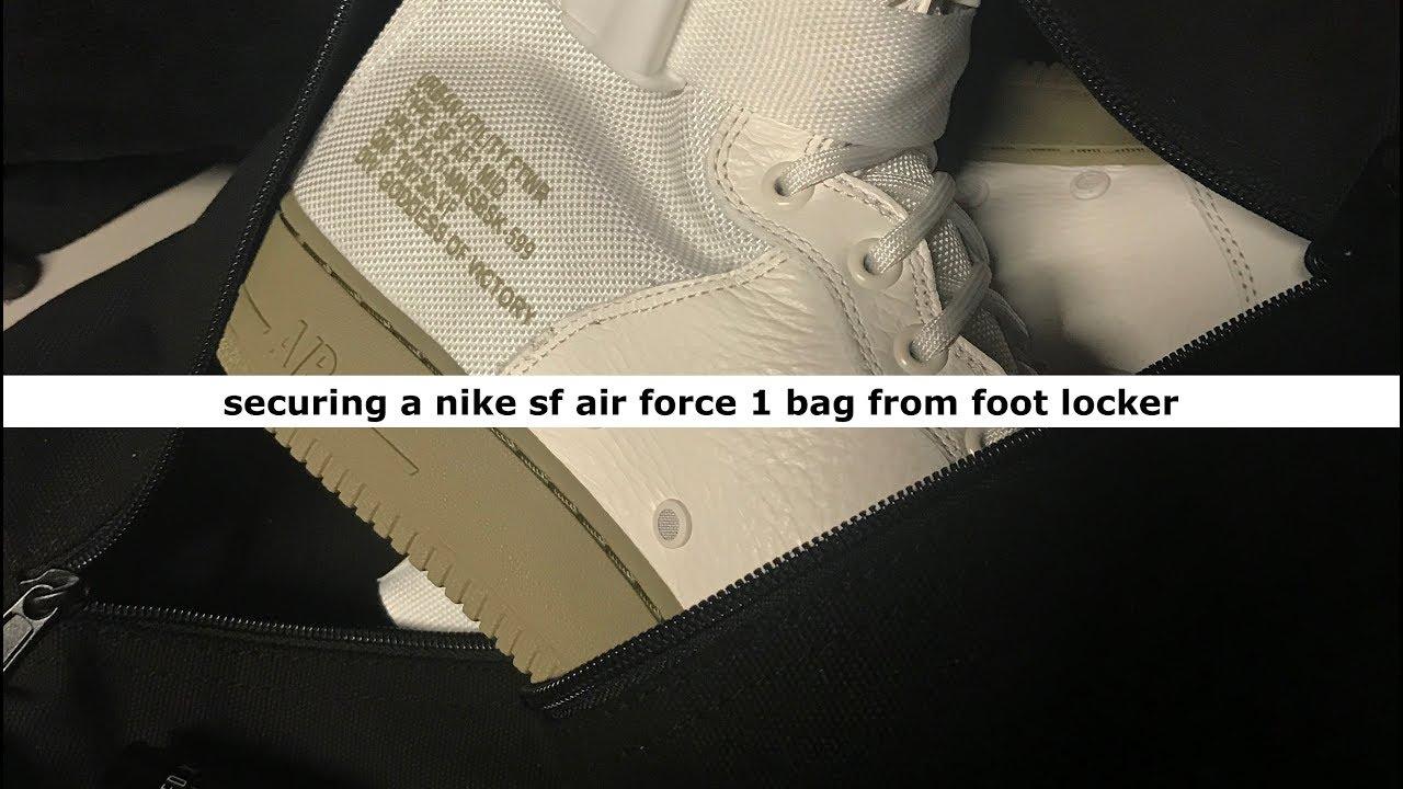 557b7b48cb5a22 Foot Locker Drops Off A Nike SF Air Force 1 Mid White Neutral Olive ...