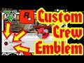 Gambar cover GTA5 : How To Get A Custom Crew Emblem *AUGUST* Rockstar Social Club Method