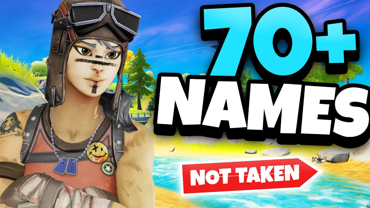 Unused Fortnite Names 70 Tryhard Fortnite Names Not Taken In 2021 Best Og Sweaty Tryhard Channel Names Youtube