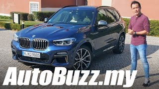 2018 BMW X3 M40i First Drive in Lisbon, Portugal - AutoBuzz.my