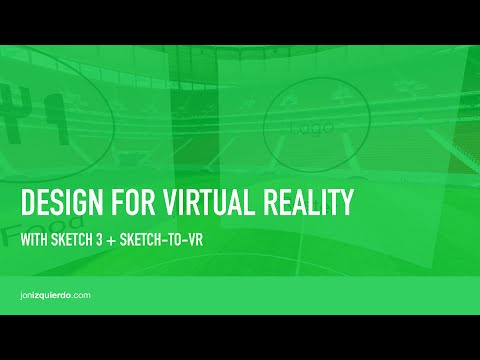 Design for Virtual Reality with Sketch-to-VR