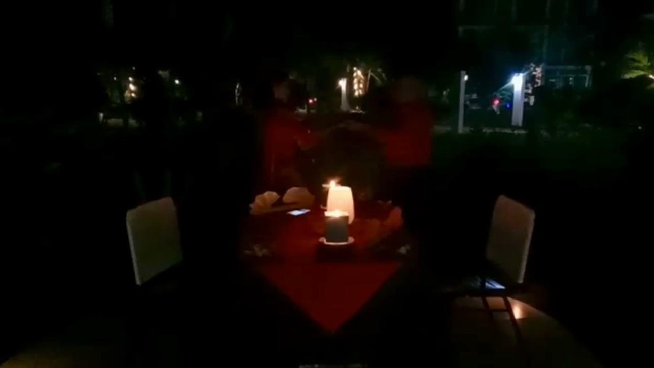 Candle light Diner 💃🏮🎼🌹❤️