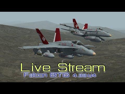 F-18 Hornets over the Balkans // Falcon BMS 4.33.u4