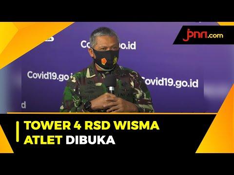 Tower 4 RSD Wisma Atlet Dibuka Untuk Pasien Covid-19 Tanpa Gejala