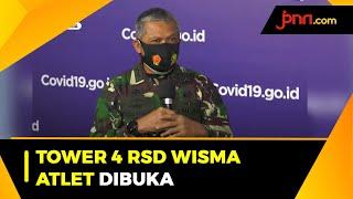Tower 4 RSD Wisma Atlet Dibuka Untuk Pasien Covid-19 Tanpa Gejala - JPNN.com