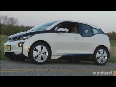 2015 Bmw I3 Electric Car Test Drive Video Review Youtube