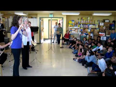 MYS Flute Demonstration at Community Transitional School