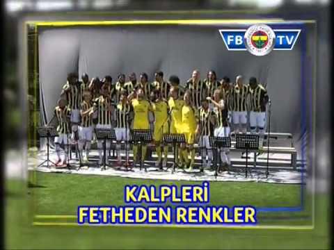 """Fenerbahçeli Futbolculardan """"Yaşa Fenerbahçe"""" Marşı!"""