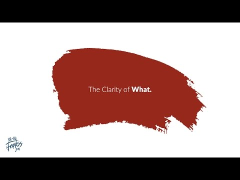 What are we trying to do, actually? #ClarityOfWhat