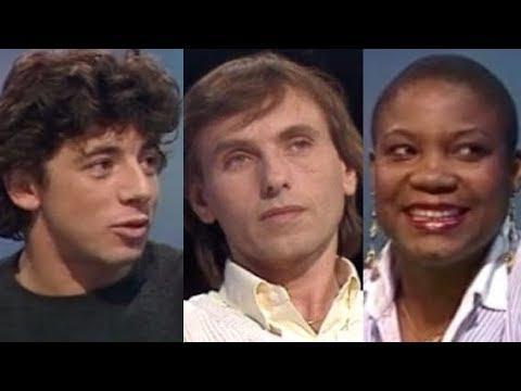 Patrick Bruel, Alexandre Arcady et Firmine Richard (1989)