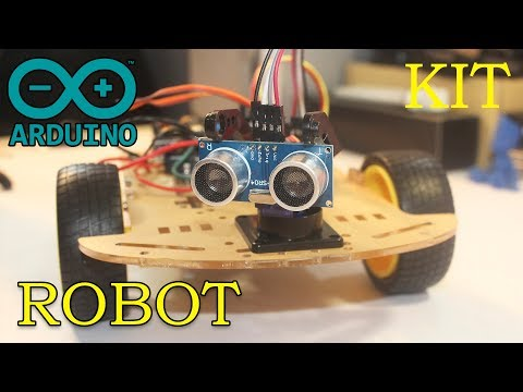 Как Сделать Робота на Arduino UNO / How To Make A Robot On Arduino UNO