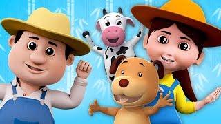 Farmees Russia - если вы счастливы | русский мультфильмы для детей | If You Are Happy