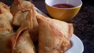 How To Make Tasty Samosa At Home