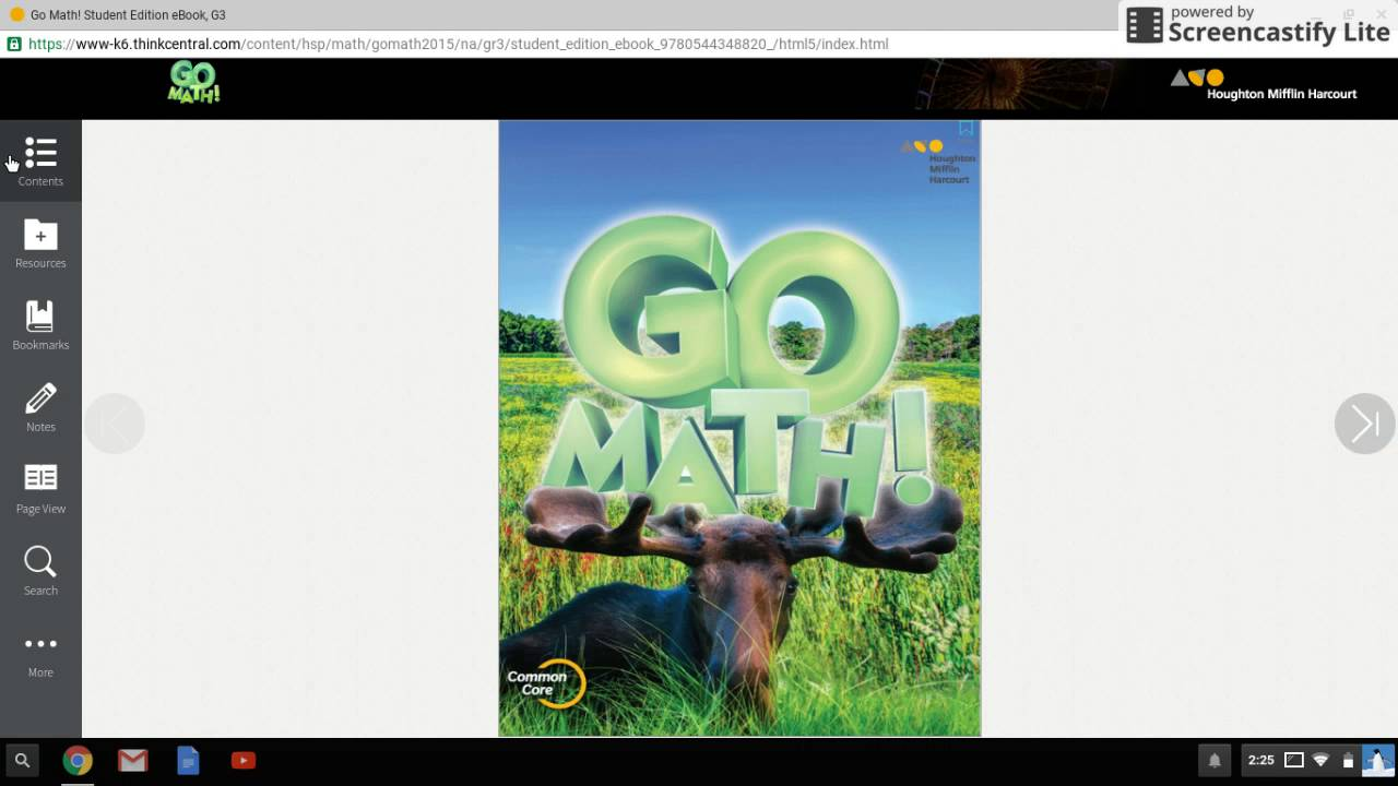 think central math games