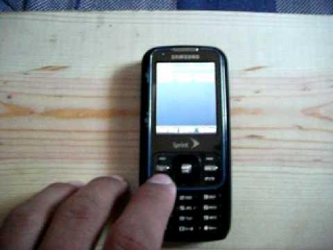Samsung Rant flashed to Verizon