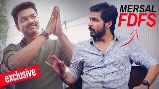 """""""Vijay Anna Mersal !!! First Day First Show"""" Bigg Boss Fame Actor Harish Kalyan Interview"""