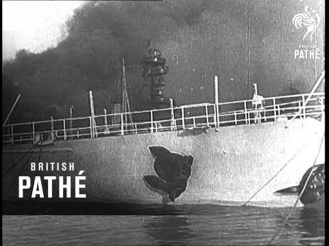 When French Fleet Tricked Hitler (1943)