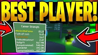 PLAYING WITH THE #1 *BEST* PLAYER! *OP* Roblox Fighting Simulator