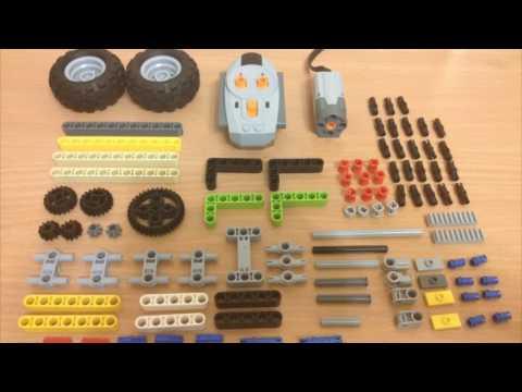 Как сделать машину на радиоуправлении из лего
