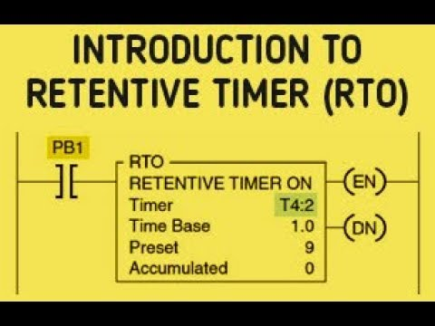 Plc Timer Programming Examples