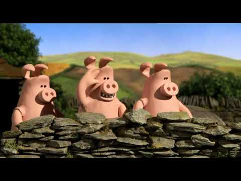 Vettoriale maiale cartone animato sdraiò image