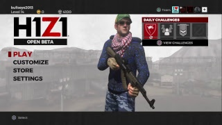 (H1Z1: Battle Royale) Open Beta playing DUOS W/chickenslayer enjoy