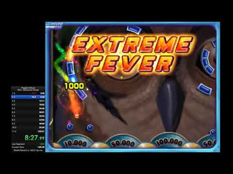 Peggle Deluxe NG+ Adventure Mode Speedrun: 1:00:15